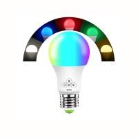 Lampadina Wifi LED RGB e Bianco Multicol 900lm Amazon Alexa Google Home