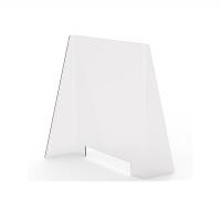 Zafferano Light Window Separé Small Table in PMMA Double Plexiglass Sided Rectangular