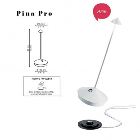 Ai Lati Pina Pro LED Battery Lamp Rechargeable Dimmable For Outdoor