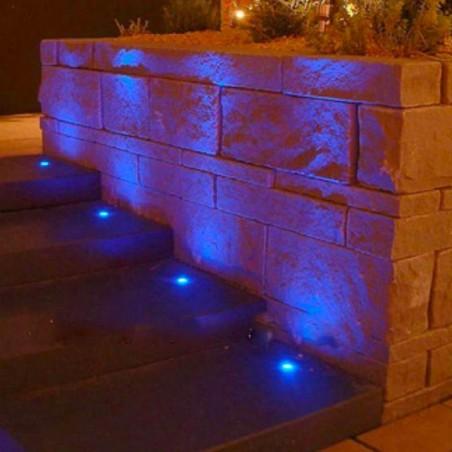 PAN Sibilla NIP EST704 LED Outdoor Floor Recessed Spotlight 3W 24V RGB 30° 130lm IP67