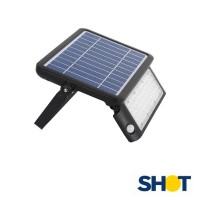 Bot Lighting Shot Yuma 10N Solar Led Floodlight 10W 1080 lumen With Sensor For Outdoor IP65