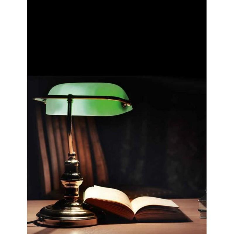 Perenz lampada da tavolo e scrivania 4807v 4807 verde e for Tavolo scrivania