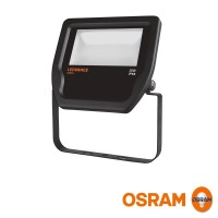 Osram LEDVANCE Floodlight LED 20W 3000K 2000lm Faretto Proiettore Esterno IP65 Nero