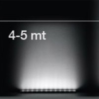 iGuzzini BG96 Linealuce Barra LED da Esterno Plafone o Lampada a Parete 5.9W 900lm 4000K IP66