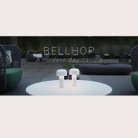 Flos Bellhop Lampada da Tavolo LED 2.5W 2700K ricaricabile USB 24 ore autonomia