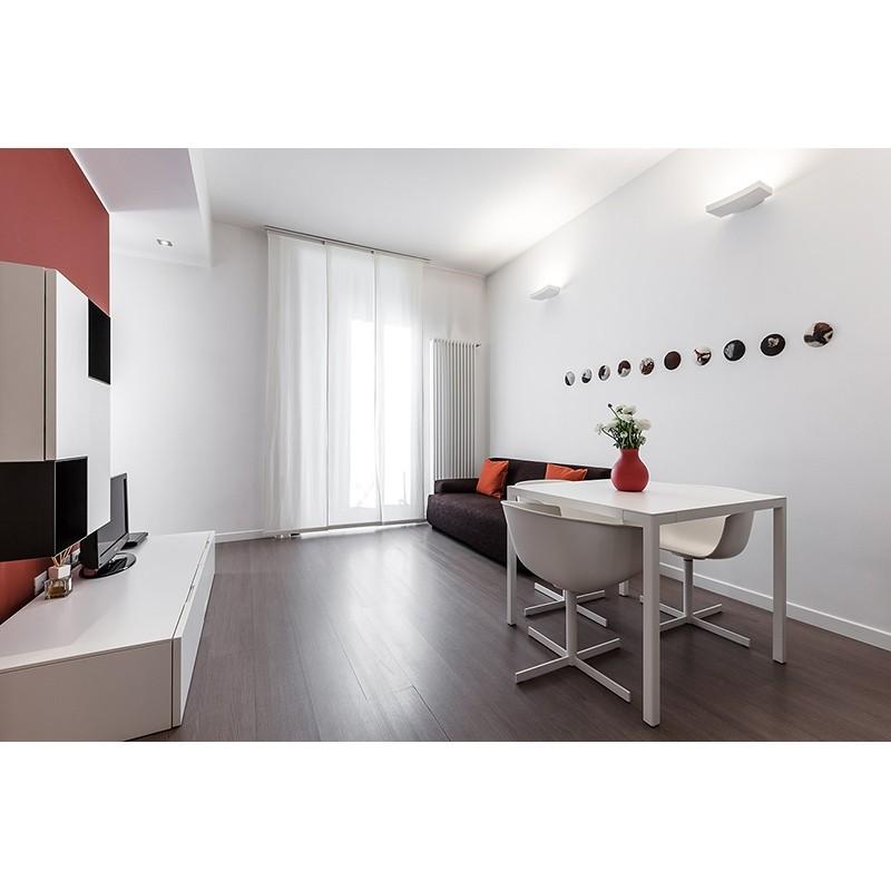 artemide surf 2x55w applique wall lamp white m060720. Black Bedroom Furniture Sets. Home Design Ideas