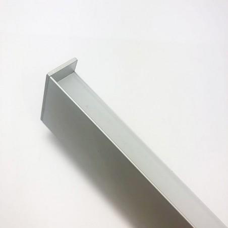 Lampo Kit Profilo Bi-Emissione Up Down In Alluminio 2 Metri A Luce Indiretta