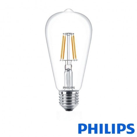 philips classic ledbulb e27 6w 60w 2700k 806lm st64 bulb. Black Bedroom Furniture Sets. Home Design Ideas
