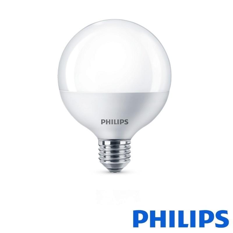 LED 15W Lampadina Globe 100W E27 lm 1521 2700K Philips Globo yg76Ybfv