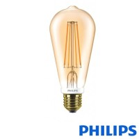 Philips Classic LED bulb E27 7W-55W 2500K 720 lm Dimmer ST64 Vintage Bulb