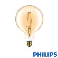 Philips Classic LED globe E27 7W-50W 2000K 630 lm Dimmer Globo 125 Lampadina Vintage