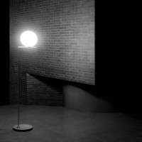 Flos IC F1 Outdoor Floor Lamp Garden By Michael Anastassiades