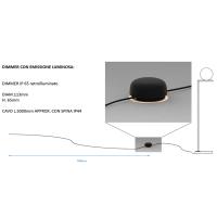 Flos IC F2 Outdoor Floor Lamp Garden By Michael Anastassiades