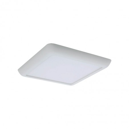 Lampo Teknica Square LED Panel Semi-recessed or Surface TRICOLOR 3000K/4000K/6000K and Double Power