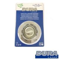 Duralamp Duralux Adjustable Recessed Spotlight GU10 7W 4000K 06091/IN aluminum color
