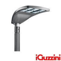 IGuzzini Wow Mini LED on pole 620x307mm Street or Urban Lighting For Outdoor Direct Light By Renzo Piano