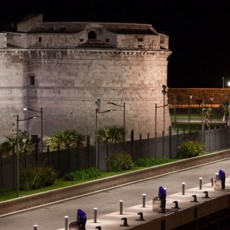 IGuzzini Wow LED Faro su palo 758x415mm Illuminazione Stradale O Urbana Per Esterno Luce Diretta