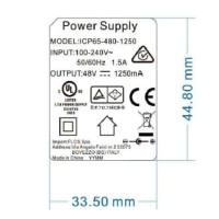 Flos Black Power Supply With Sockets and Driver 40V Kit Replacement Lamps
