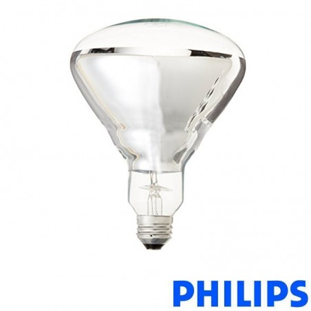 Philips BR125 230-250V 250W Lamp Infrared Heat Incandescent