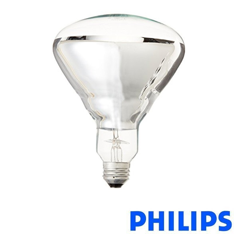 Incandescent 230 250V BR125 Lamp Heat 250W Infrared Philips tsxQdChr