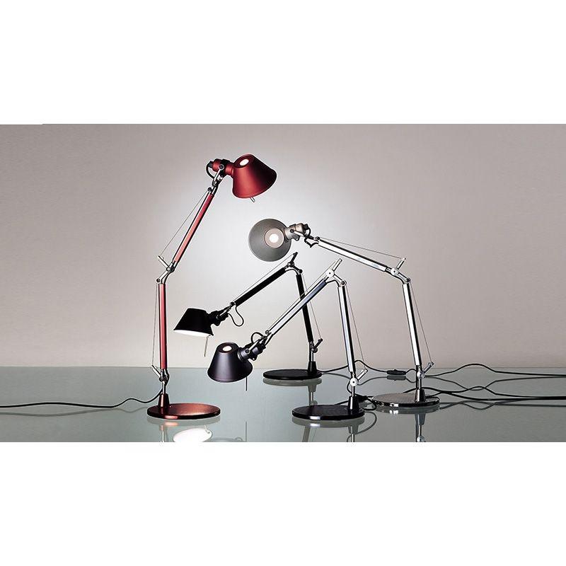 Artemide tolomeo micro lampada da tavolo grigio anodizzato a011820 diffusione luce srl - Lampada da tavolo tolomeo ...
