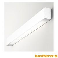 Lucifero's File Lampada da Parete per Fluorescente Bianca LT2821