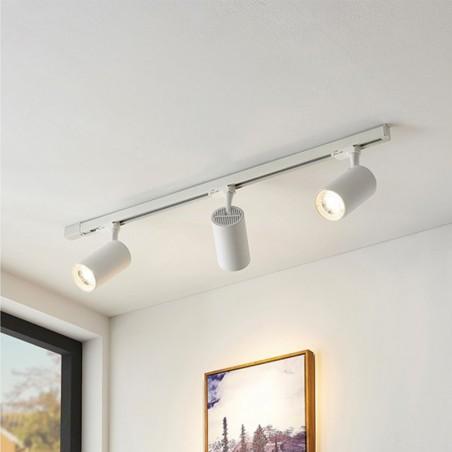 Logica Fulgor Proiettore Binario LED Incasso A Sospensione Per Interno