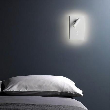 Astro Lighting Edge Reader Mini LED Lampada da Parete E Lettura Orientabile