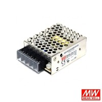 Meanwell RS-15-12 15W 12V 1.3A Strip LED AC/DC LED Power Supply Driver
