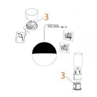 Flos Alimentatore elettronico LED 100-277V Per String Light Cono e Sfera
