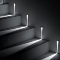 Luce & Light Line 2.1 Segnapasso 2W Incasso Rettangolare Da Cartongesso Parete LED Faretto