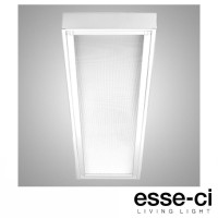 Esse-Ci ISE Plafoniera Lampada da Soffitto 1x36W T8 G13 IP40