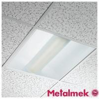 Metalmek 2G11 9121F 2x55W Recessed Ceiling Lamp 60X60