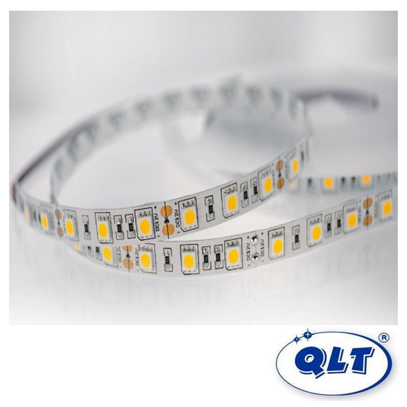 QLT Striscia LED 14,4W 12V 3200K IP20 Luce Calda - 1 Metro