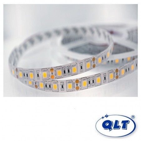 QLT Striscia LED 14,4W 12V 4100K IP65 Luce Naturale - 1 Metro