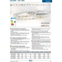 QLT Striscia LED 14,4W 12V 4100K IP65 Luce Bianca Naturale Naturale - 1 Metro