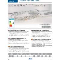 QLT Strip LED 14,4W 12V RGB IP65 Change Color - 1 Meter