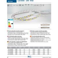 QLT Striscia LED 14,4W 24V 3200K IP20 Luce Calda - 1 Metro