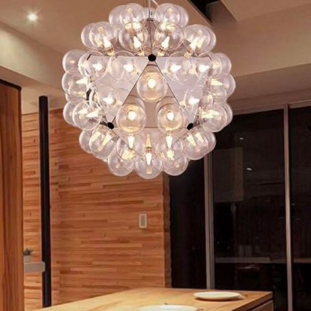 Flos Kit Lampadine LED Globo Trasparenti 3W E27 170lm 180-265V 2500K Luce Calda per Taraxacum By Castiglioni