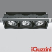 iGuzzini 2684.004 Deep Frame Minimal Black 3x75W E27 PAR30