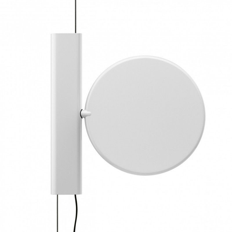 flos ok suspension pendant lamp white f4640009 by konstantin grcic diffusione luce srl. Black Bedroom Furniture Sets. Home Design Ideas