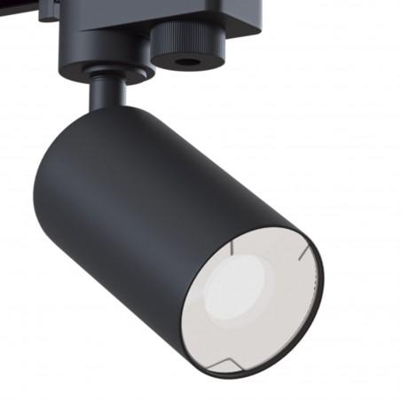 Maytoni Single Phase Track Proiettore da Binario Fascio Regolabile Faretto Cilindrico