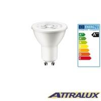 Attralux LED GU10 3W-35W 2700K 230lm 36° Luce Calda Lampadina