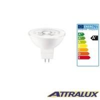Attralux LED GU5.3 4.5W-35W 2700K 345lm 36° Luce Calda Lampadina