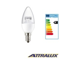 Attralux LED E14 3.2W-25W 2700K 250lm Warm Light Bulb