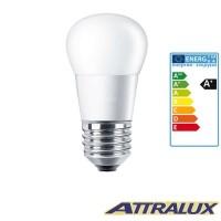 Philips Attralux LED E27 5.5W-40W 2700K 470lm Luce Calda Lampadina