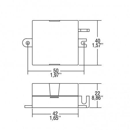 TCI STM/U 6W 150mA DC Alimentatore Elettronico In Corrente Continua