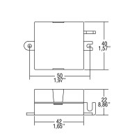 TCI STM/U 6W 250mA DC Alimentatore Elettronico In Corrente Continua