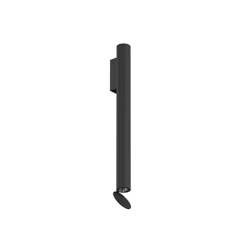 Flos Flauta Riga 2 H500 Lampada LED Bi-Emissione da Parete Dimmerabile DALI per Interno