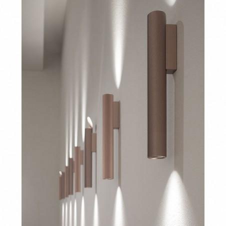 Flos Flauta Spiga 2 H500 Lampada LED Bi-Emissione da Parete Dimmerabile DALI per Esterno IP65
